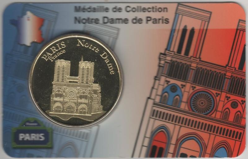 Carte-Médaille Paris (KNM) 00610
