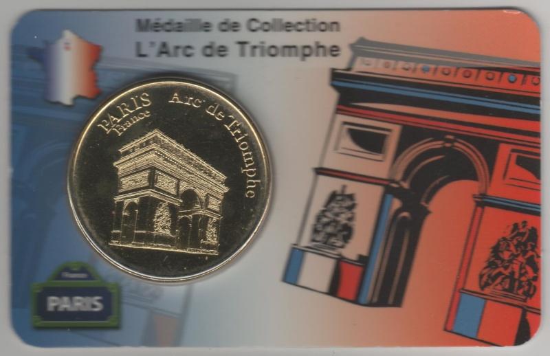 Carte-Médaille Paris (KNM) 00710