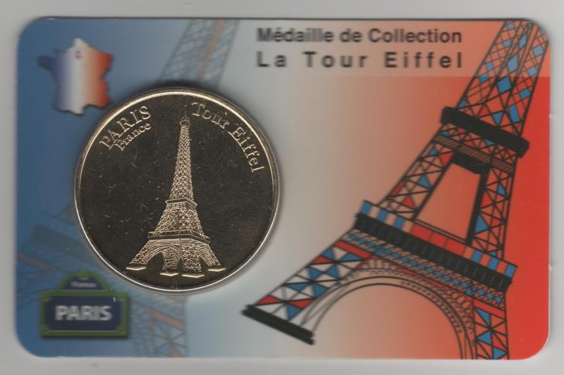 Carte-Médaille Paris (KNM) 00810