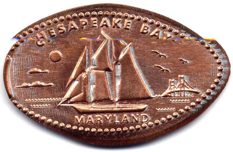 Elongated Coin US Ecrasa27