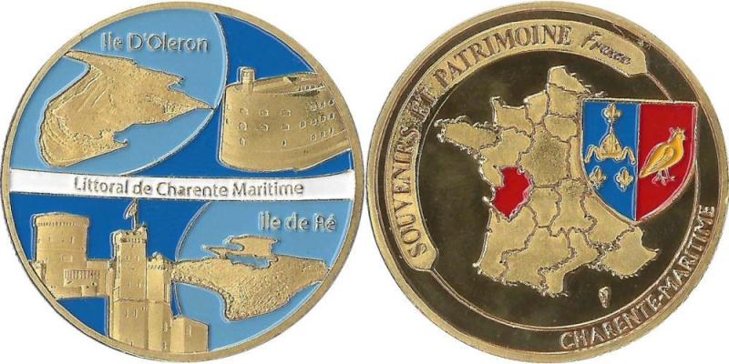 Souvenirs et Patrimoine 34mm  Iles10