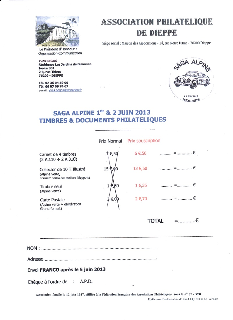 76 - Dieppe - Association Philatélique Img_0010