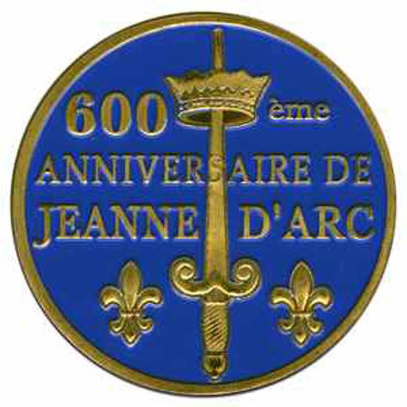 Souvenirs et Patrimoine 40mm  =  5  Jeanne11