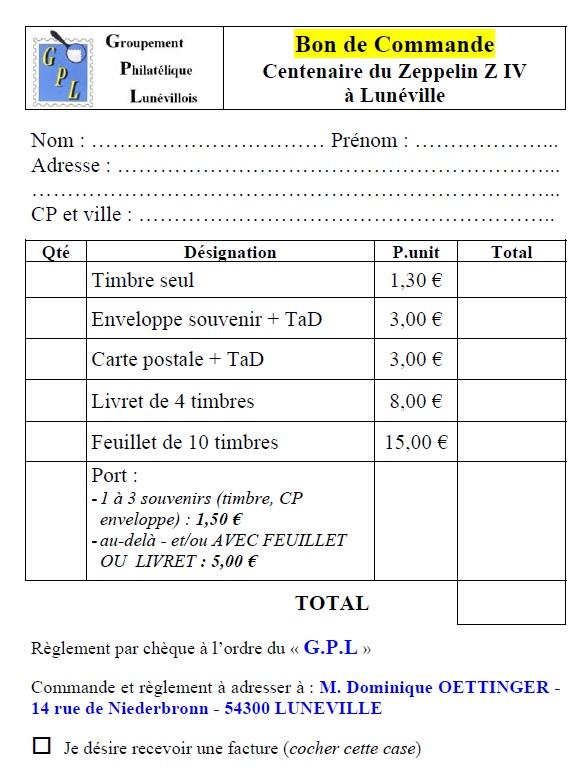 54 - Lunéville Groupement Philatélique Lunevi13