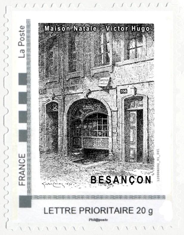 25 - Besançon - Société Philatélique   Mtm-co10