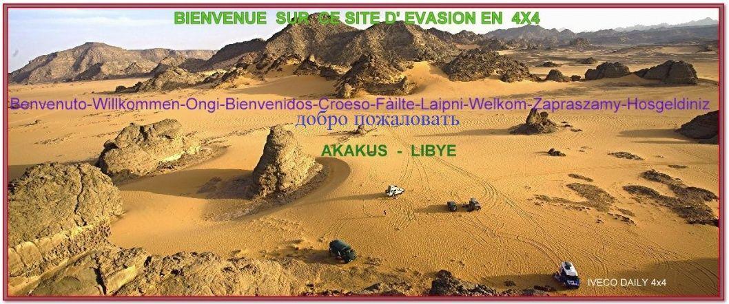 L ' AFRIQUE  en  IVECO 4X4