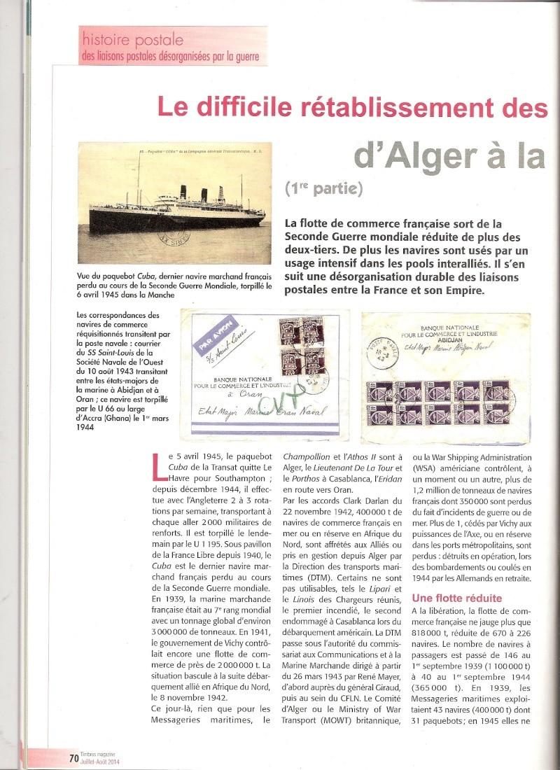 histoire postale Scanne26