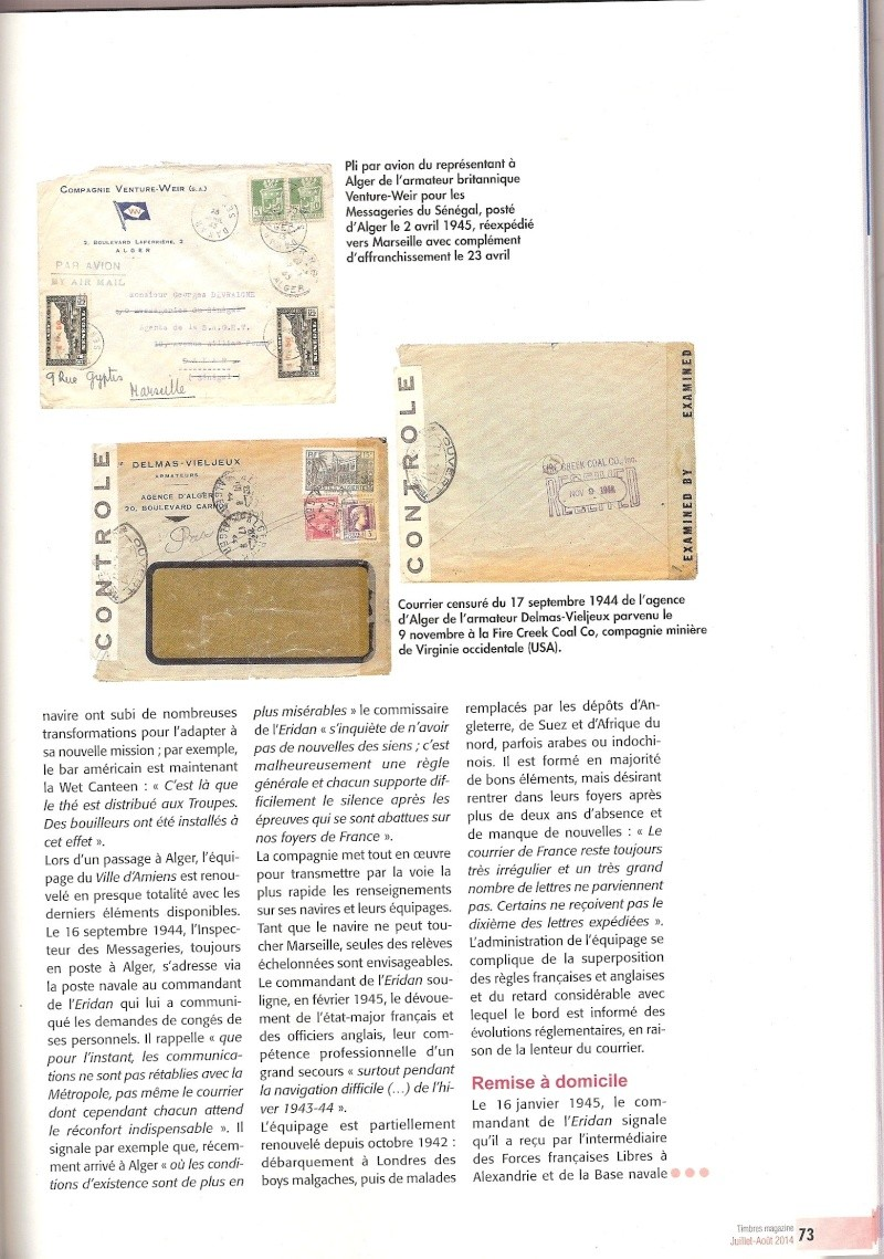 histoire postale Scanne29