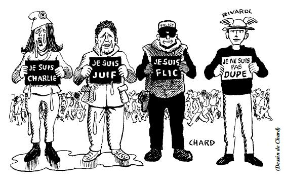 RIVAROL du 15/01/2015 : Ni Charlie ni Charia, ni Mossad ni CIA ! Rivaro11