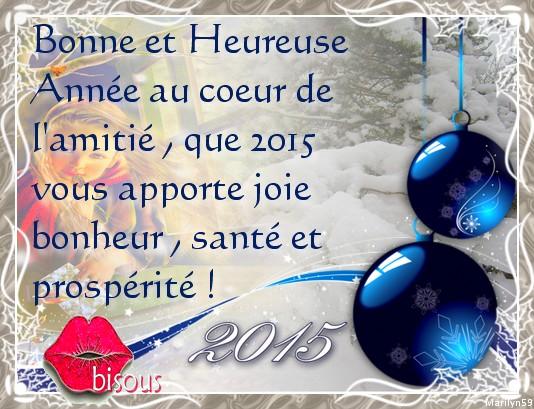 Meilleurs voeux pour l'année 2015 02874b10
