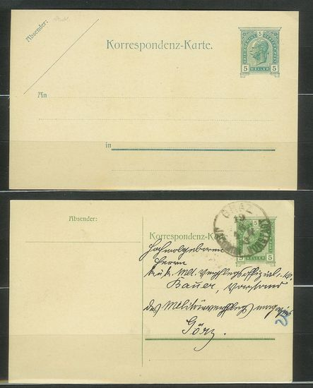 Postkarten -  allgemein bis 1938 Aganzs11