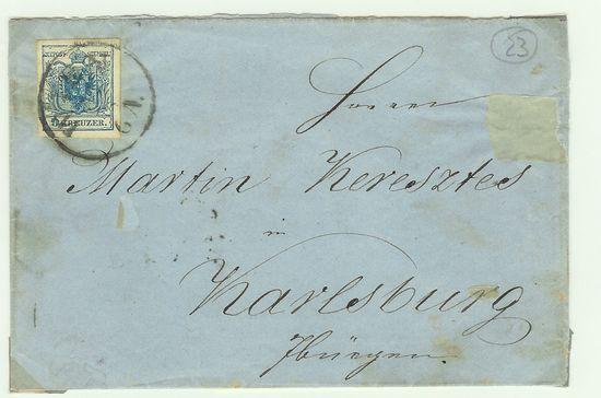 Österreich - Alte Briefe Akukbr15