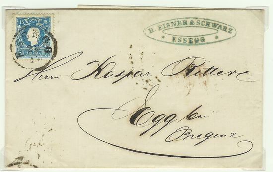 Österreich - Alte Briefe Akukbr17