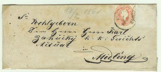 Österreich - Alte Briefe Akukbr20