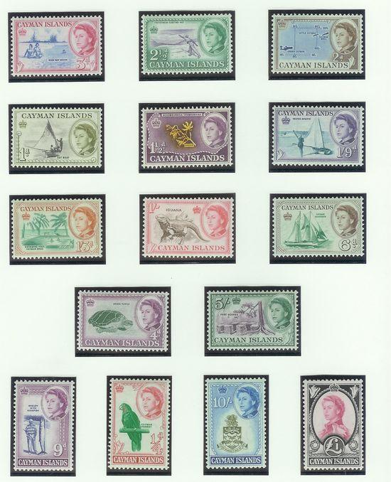 Freimarkensätze Cayman10