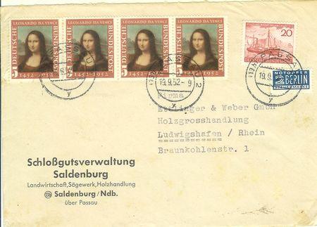Briefe Bundesrepublik Deutschland Davinc10
