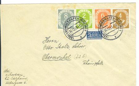 Briefe Bundesrepublik Deutschland Postho10
