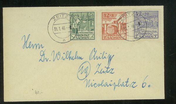 1945 - Deutsche Lokalausgaben nach 1945 Provin10