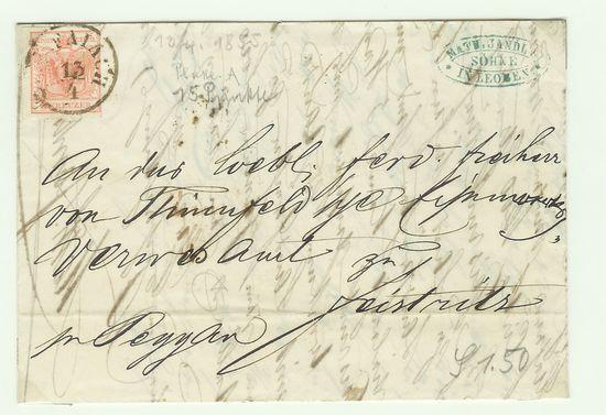 Österreich - Alte Briefe Scan_110