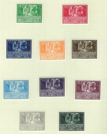 Wipa 1933 Werbemarken Wipa3310