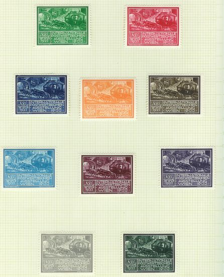 Wipa 1933 Werbemarken Wipa3312