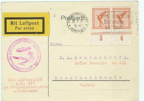 Diverse Luftpost Zeppco10