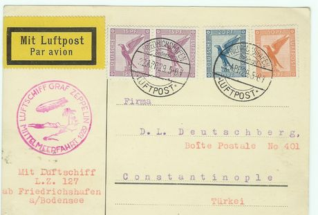 Diverse Luftpost Zeppco11