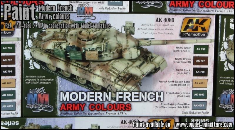 """peinture - """"Modern French Army Colours"""" AK-Interactive dispo sur M-M Image410"""