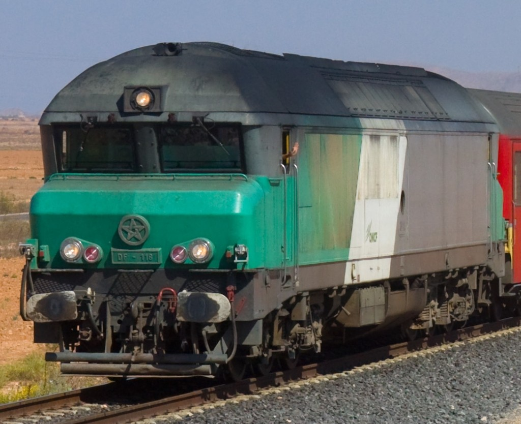 Chemins de Fer au Maroc - ONCF  Alstom11