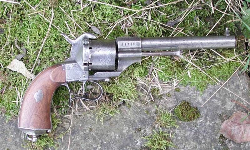 Revolver LEFAUCHEUX 1854 espagnol 1854_h10