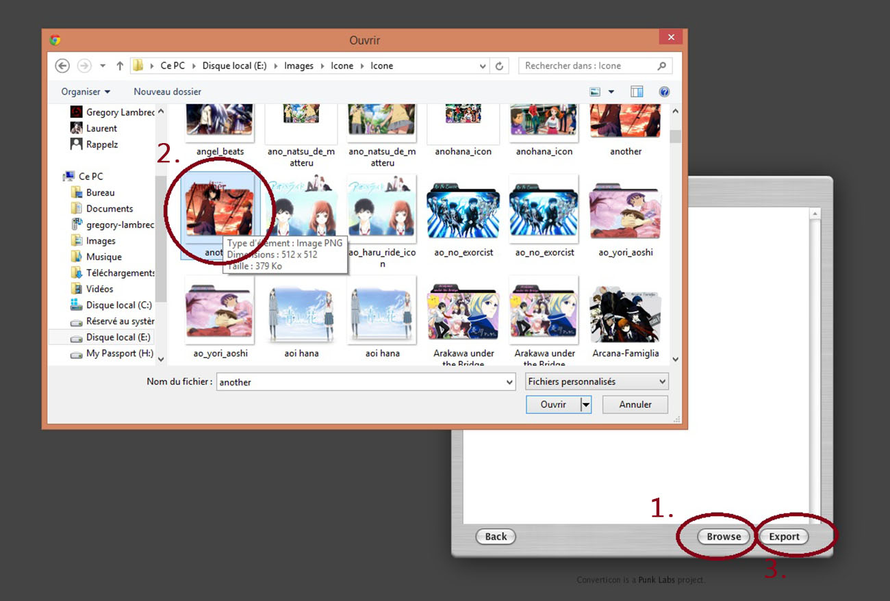 Customiser Ses Dossiers Screen18