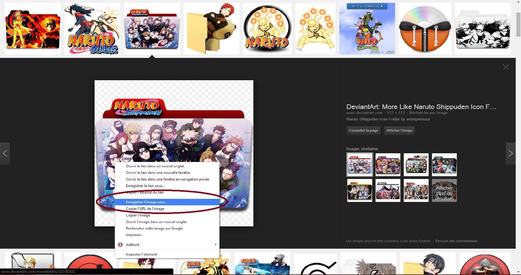 Customiser Ses Dossiers Screen23