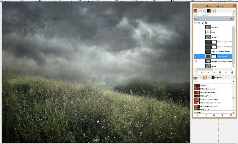 [Apprenti] Créer un effet de pluie Captur52