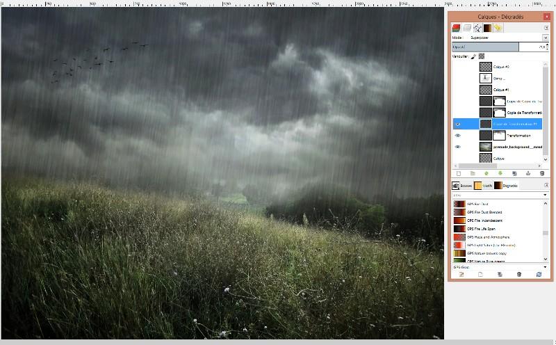 [Apprenti] Créer un effet de pluie Captur53
