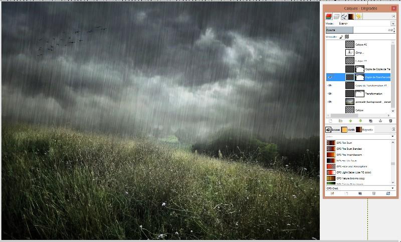 [Apprenti] Créer un effet de pluie Captur54