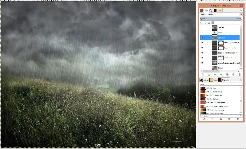 [Apprenti] Créer un effet de pluie Captur56