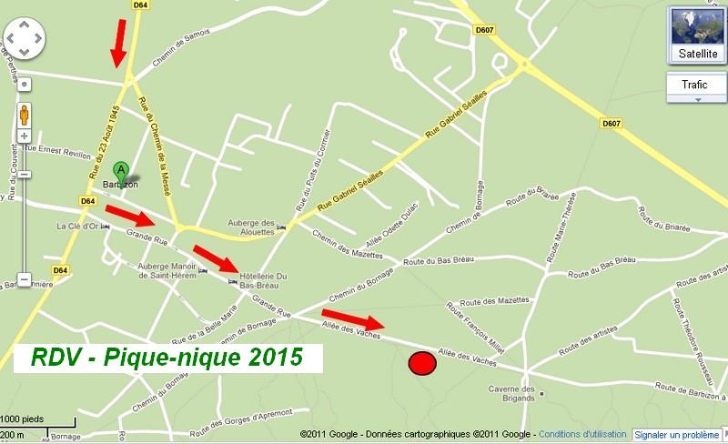 """[CMBF- Sections W123 & W124] -  Le dimanche 28 juin 2015 - Pique-nique familial à Barbizon """" 77 """" Pique-10"""