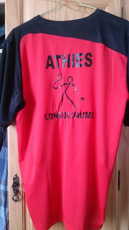 Nouveaux maillots sociétés de la Somme ( 2015) Athies10