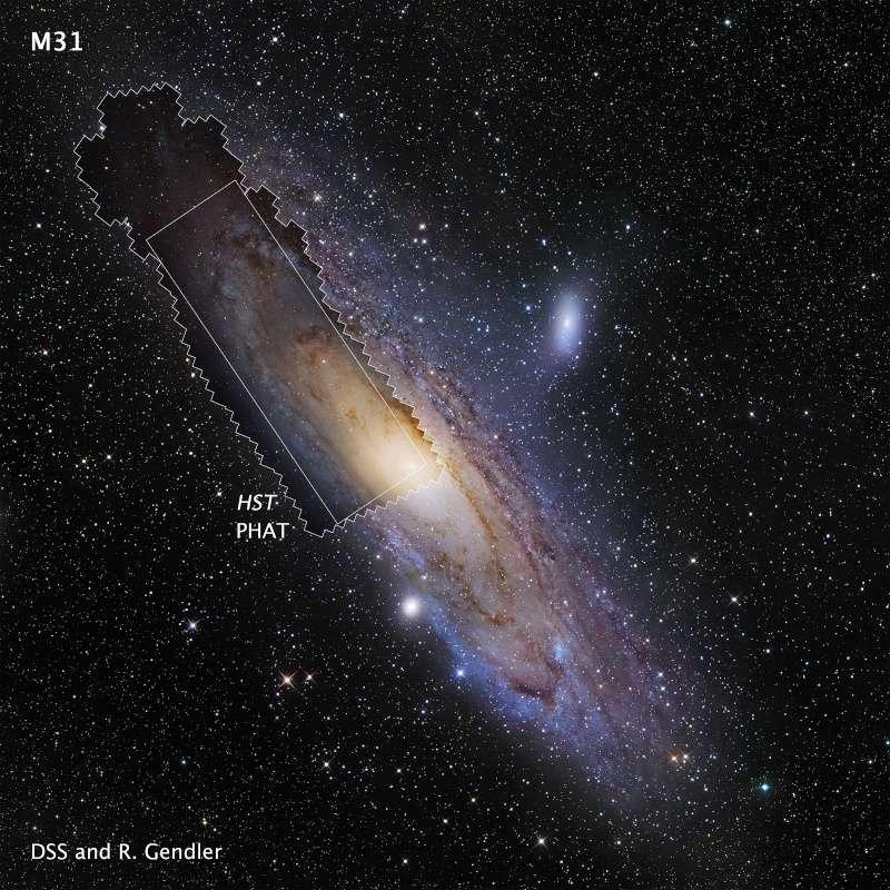 Une photo de 1,5 milliard de pixels prise par Hubble ! Hs-20110