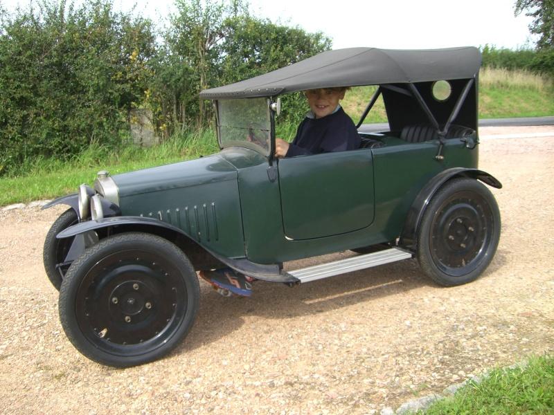 Championnats de jouets sportifs 1932 - (voitures à pédales) Voitur10