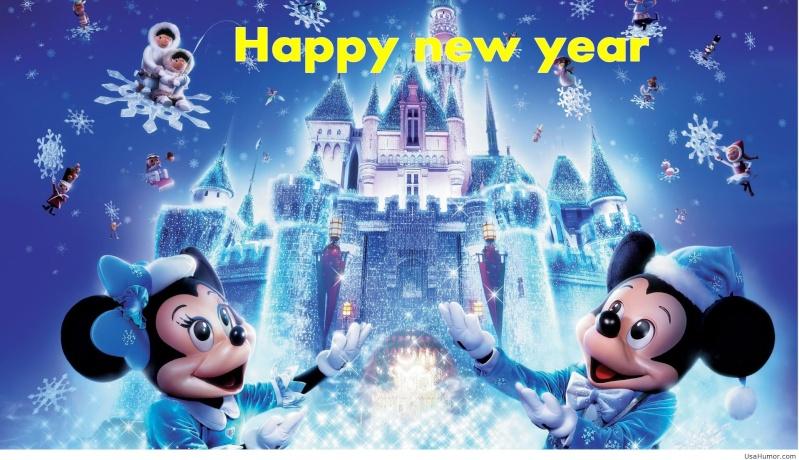 Bonne Année 2015  Disney10