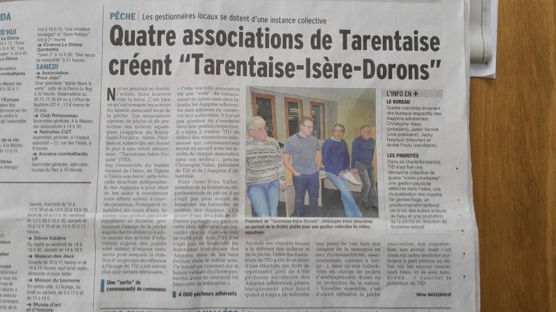 Création d'une association inter-AAPPMA sur la haute Isère 2015-010