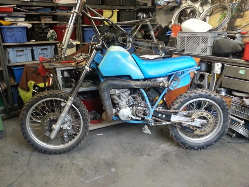 Yamaha 490 IT Dirt piste 20141110