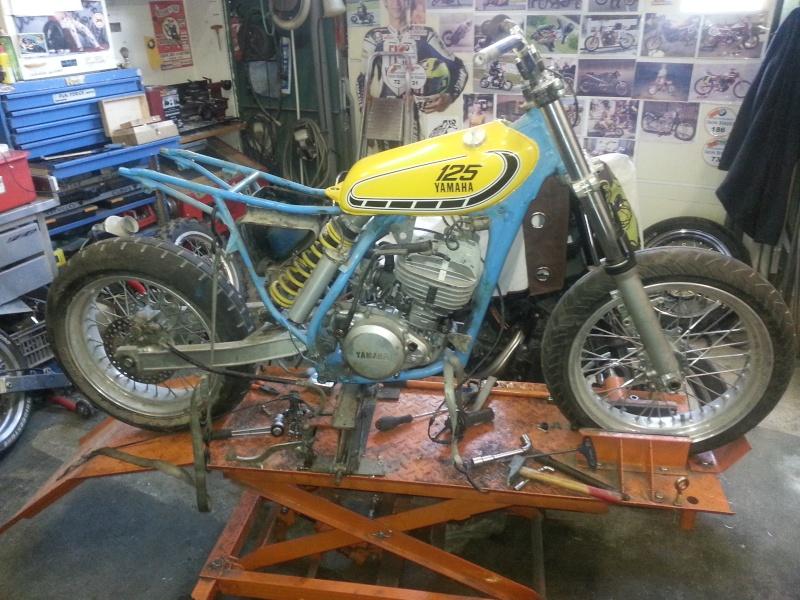 Yamaha 490 IT Dirt piste 20150211