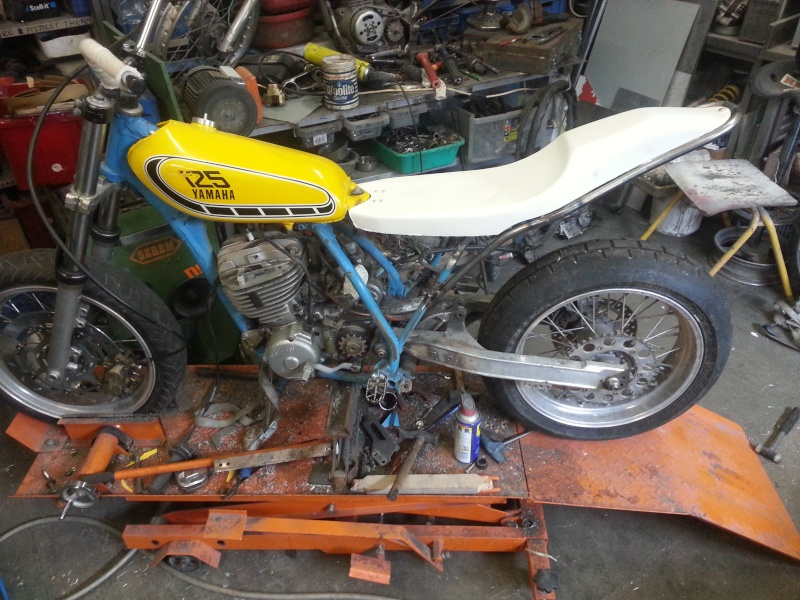 Yamaha 490 IT Dirt piste 20150213