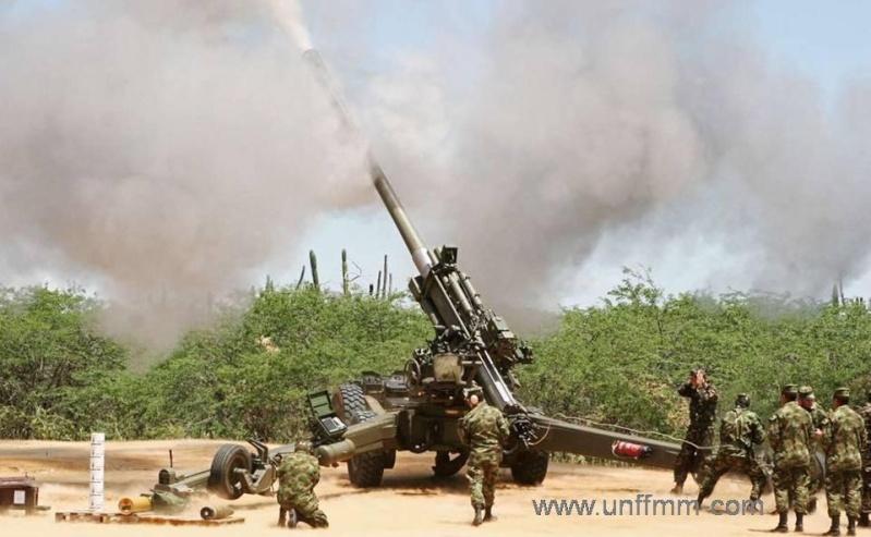 Armée Colombienne / Military Forces of Colombia / Fuerzas Militares de Colombia Obusap10