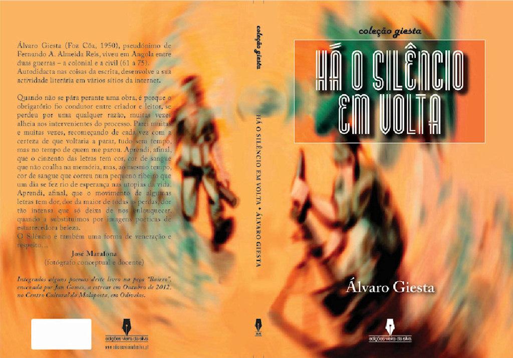 """Convite: Lançamento do livro: """"Há o silêncio em Volta"""" - autor: Álvaro Giesta  Capa_c10"""