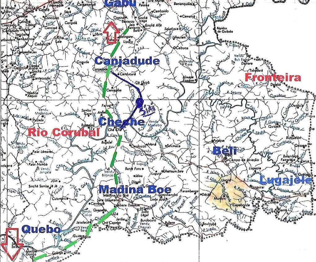 O DIA DO MEU BATISMO «FOGO» MONTE SIAI 10-01-1968 Mapa_d10