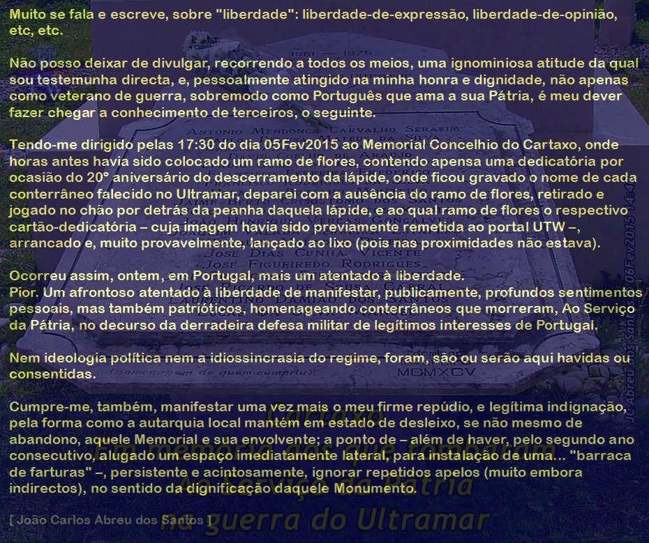 Cidade do Cartaxo - Monumento aos Combatentes Memctx10