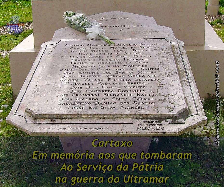 Cidade do Cartaxo - Monumento aos Combatentes Memctx12